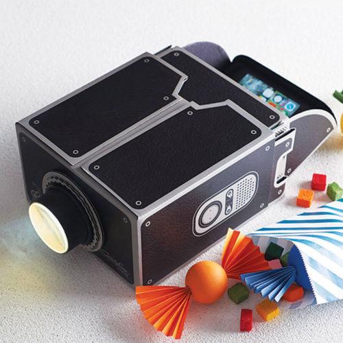 Mini Smart Phone Diy Movie Projector Portable Cinema For